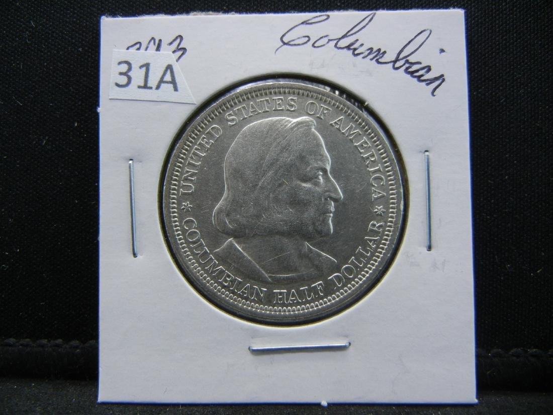 1893 Columbian Expo Commemorative Half Dollar