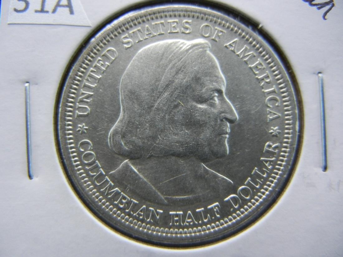 1893 Columbian Expo Commemorative Half Dollar - 2