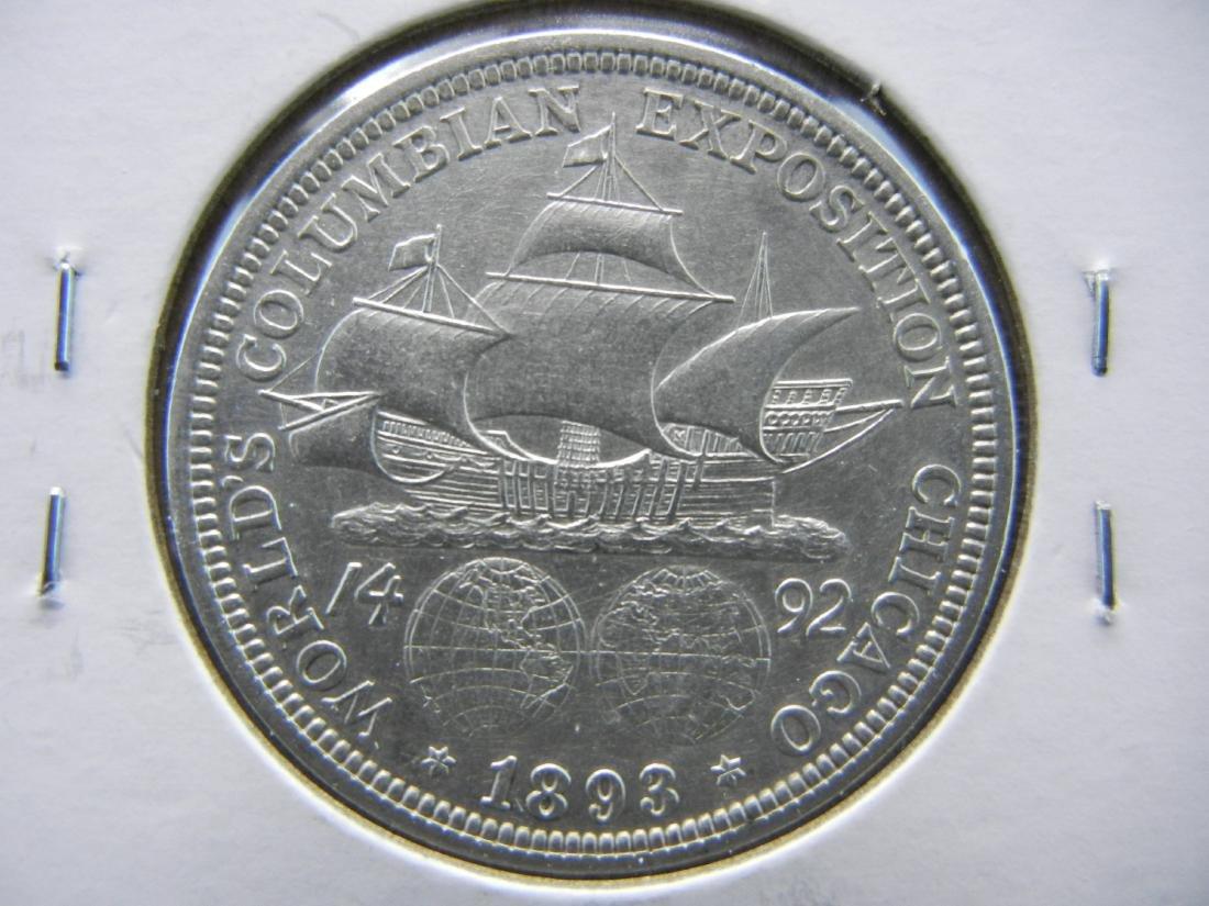 1893 Columbian Expo Commemorative Half Dollar - 3