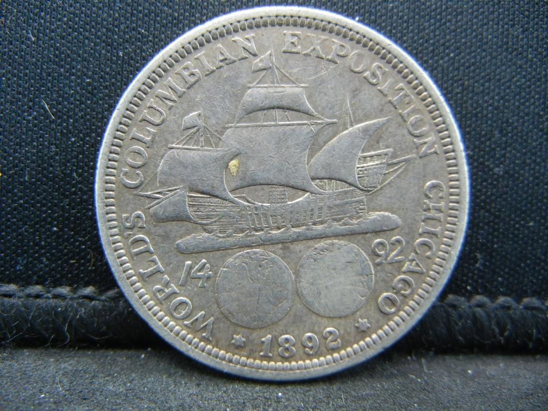 1892 Columbian Exposition Commemorative Half Dollar.