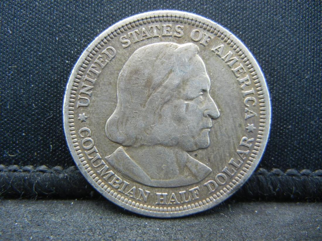 1892 Columbian Exposition Commemorative Half Dollar. - 2