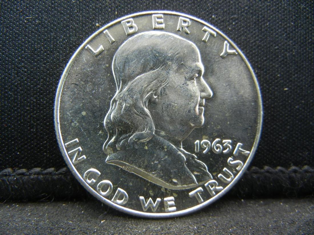 1963-D Franklin Half Dollar