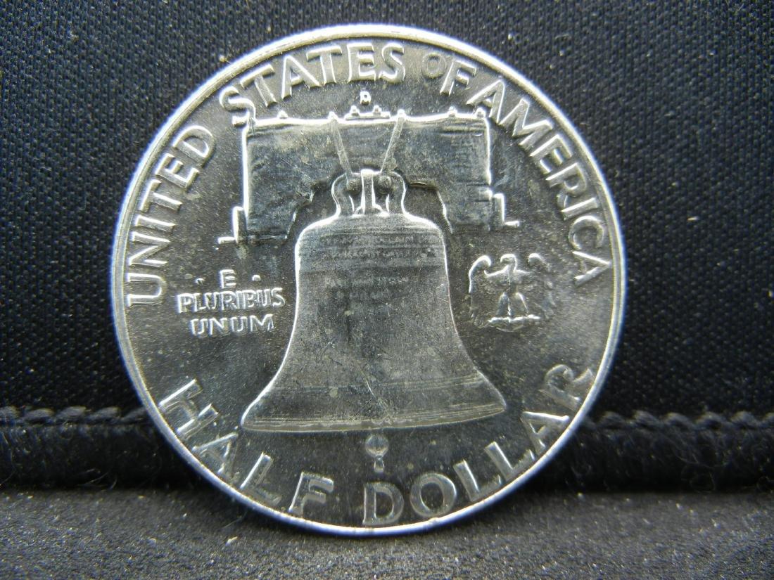 1963-D Franklin Half Dollar - 2
