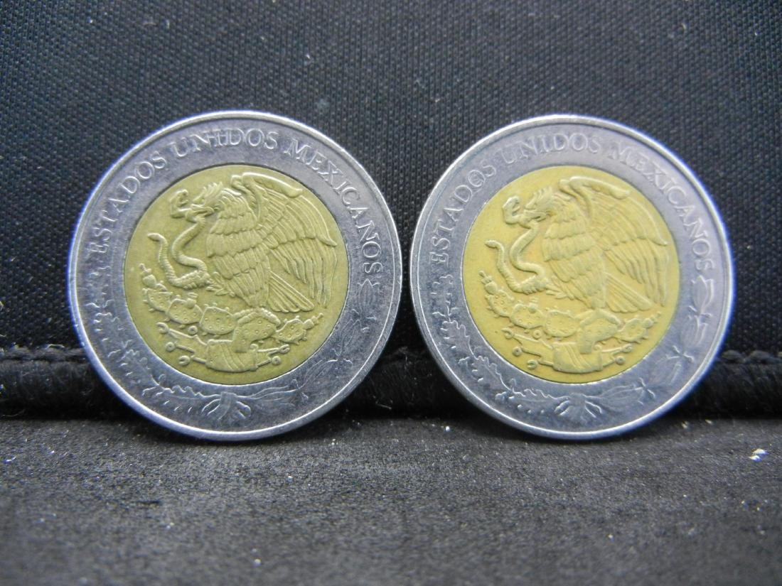 2008 5 Peso Ricardo Flores Magon & Heriberto Jara - 2