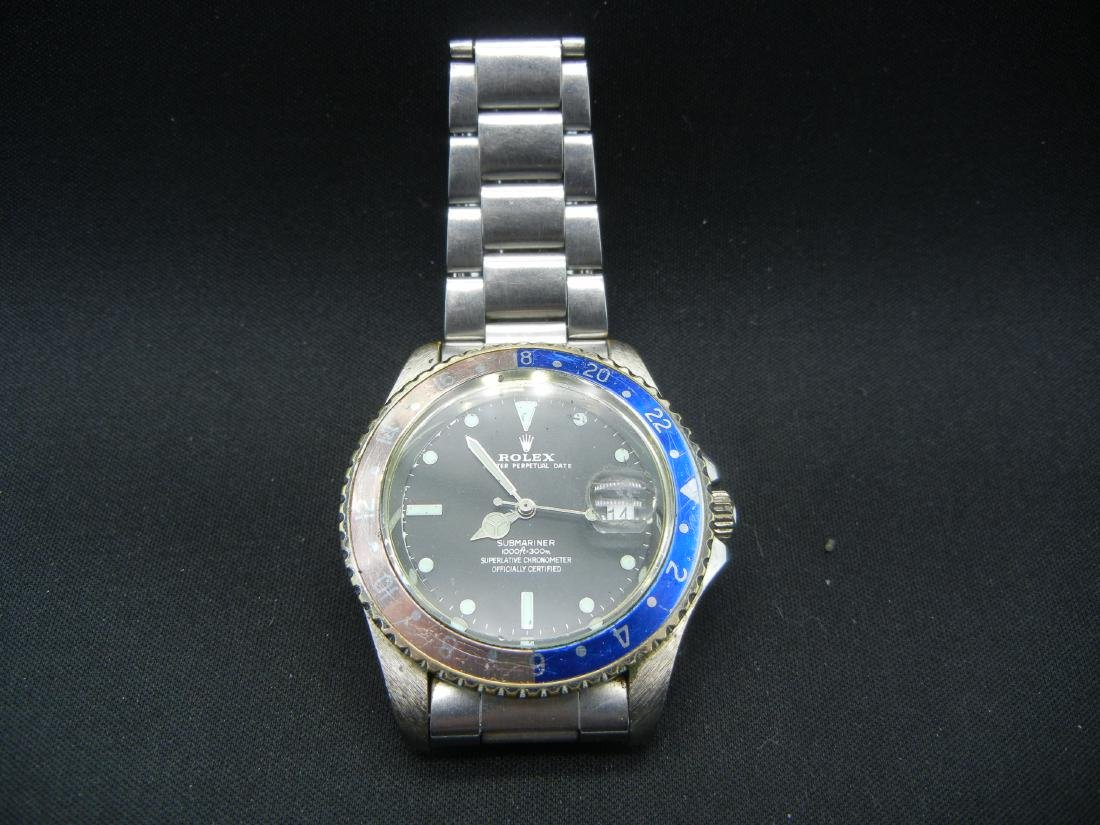 Reproduction Submariner Men's wristwatch. WORKS!