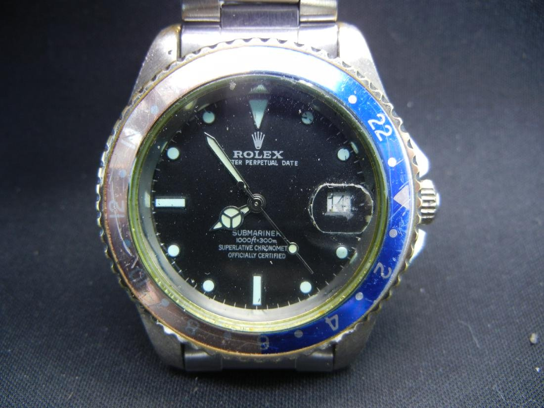 Reproduction Submariner Men's wristwatch. WORKS! - 2
