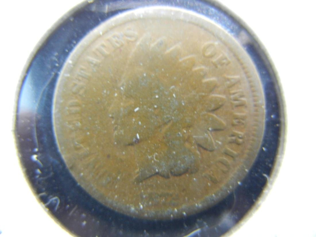 1872 KEY Indian Head cent. No problem coin!