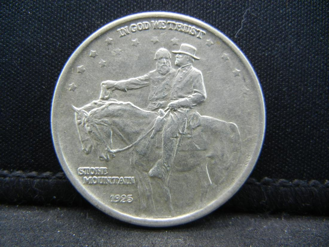 1925 Stone Mountain Comemorative Half Dollar.