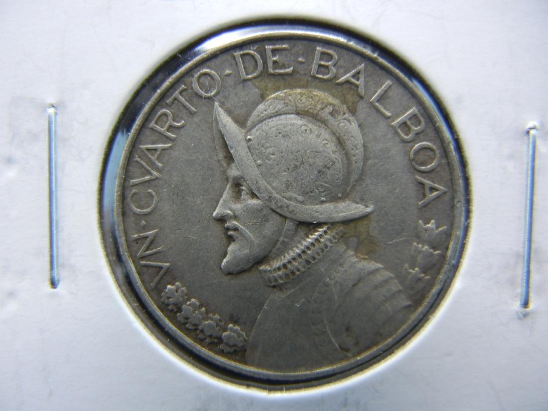 1947 1/4 Balboa from Panama