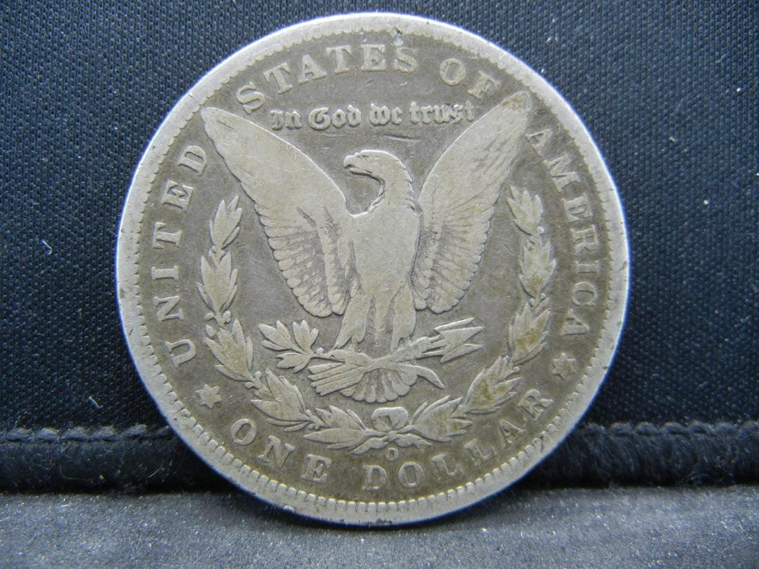 1896-O Morgan Silver Dollar - 2