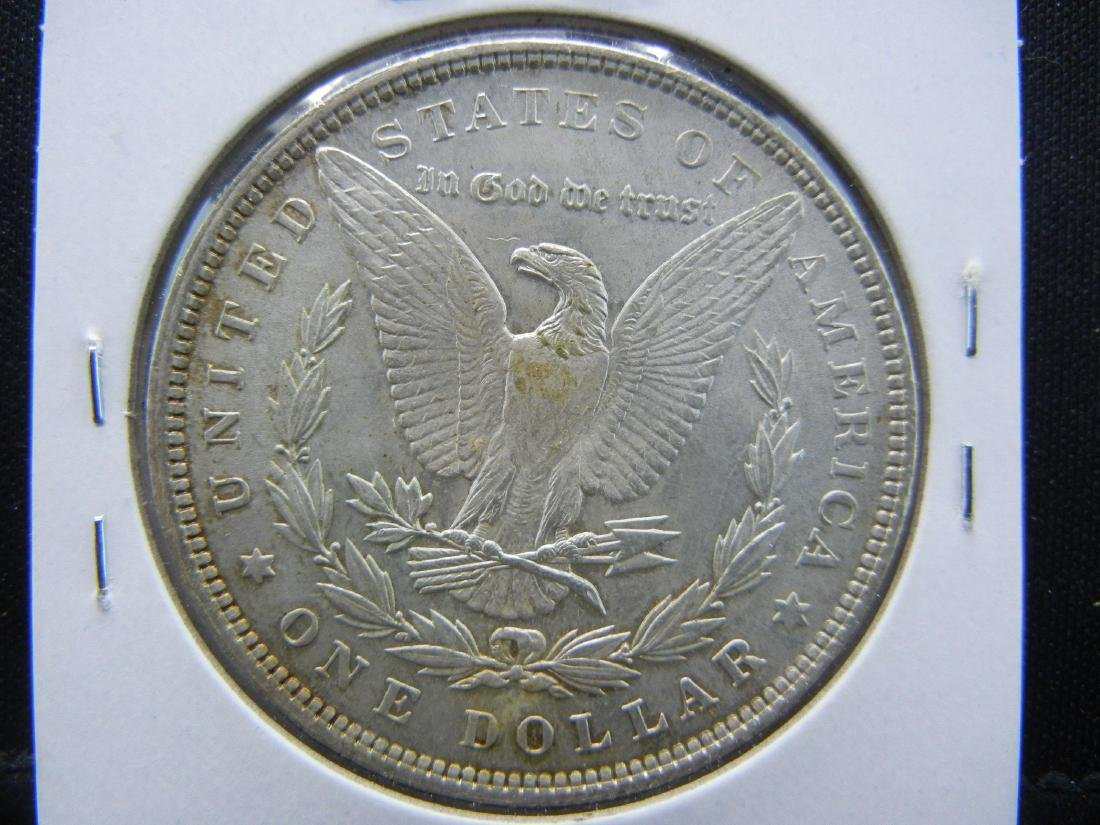 1896 Morgan Silver Dollar - 2