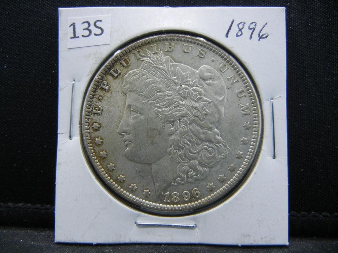 1896 Morgan Silver Dollar - 3