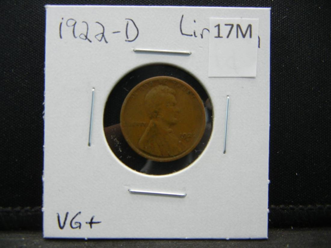 1922-D Lincoln Wheat Cent - 3