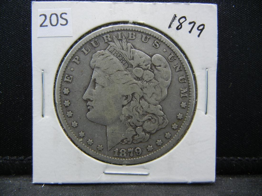 1879 Morgan Silver Dollar - 3
