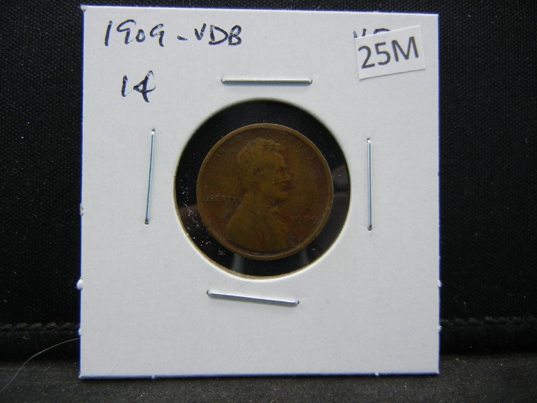 1909-VDB Lincoln Wheat Cent - 3