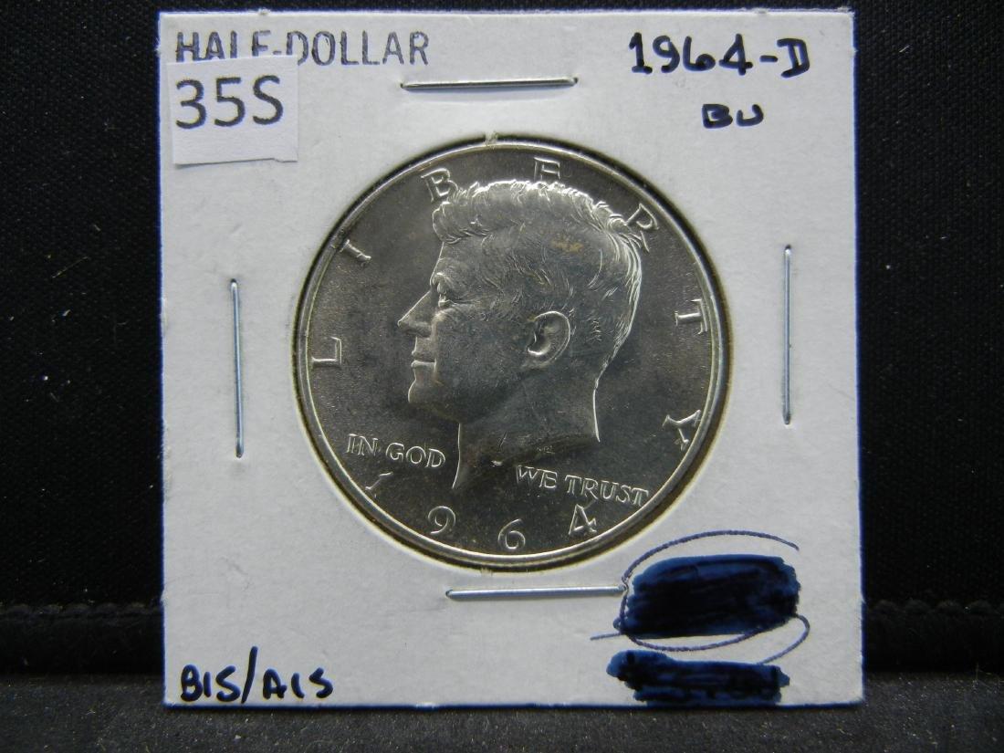 1964-D Kennedy Half Dollar - 3