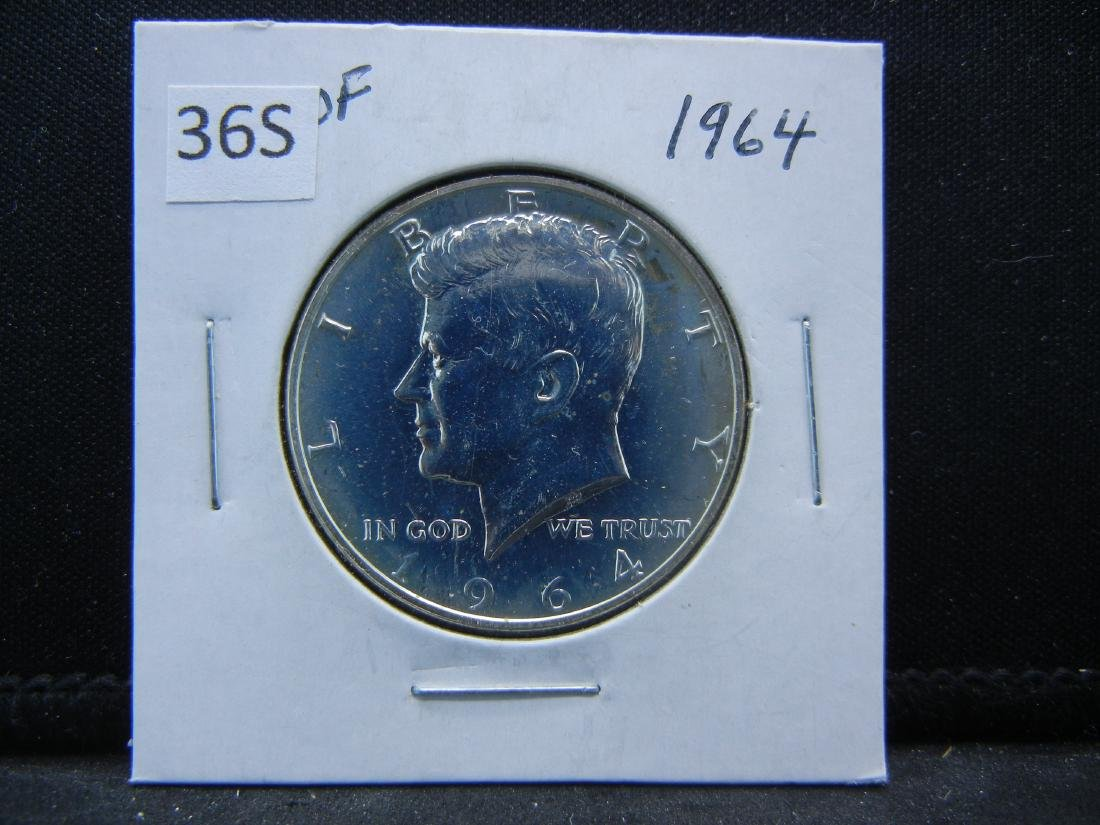 1964 Kennedy Half Dollar - 3