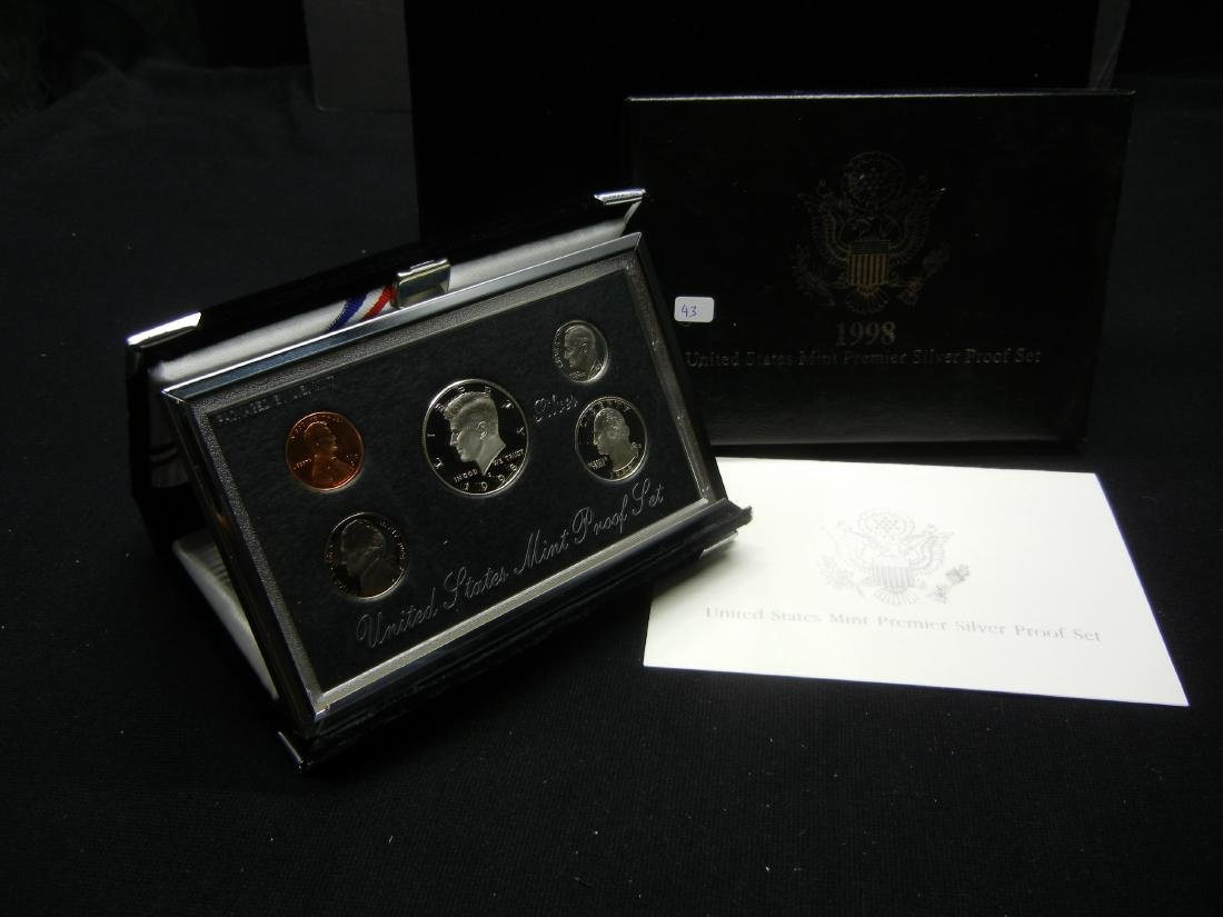 1998 Silver Premier Proof Set.