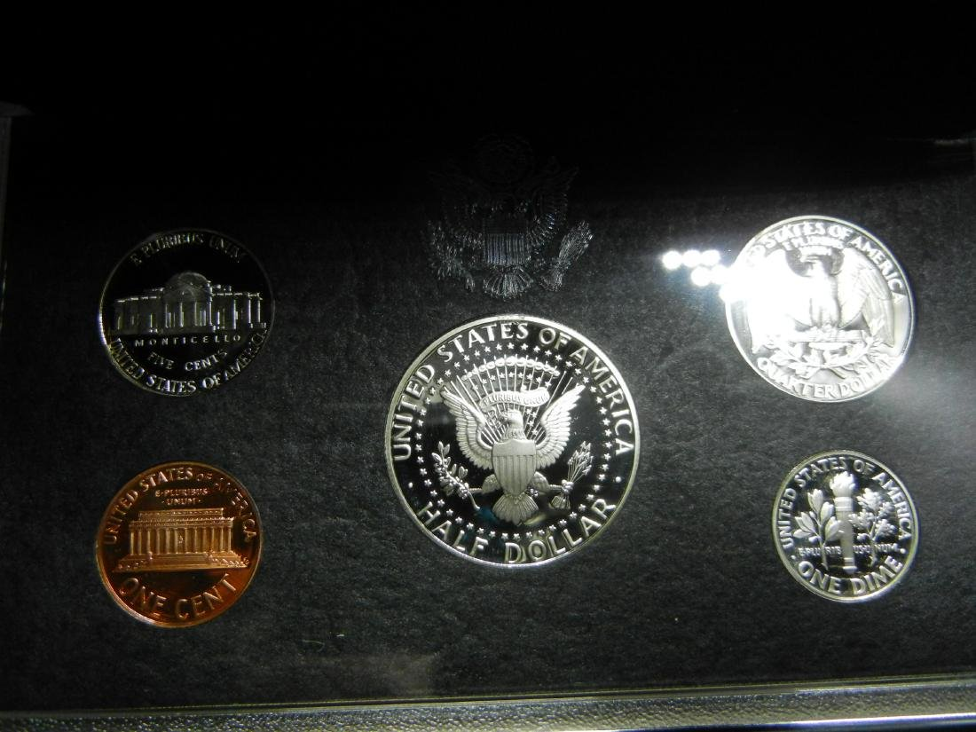 1998 Silver Premier Proof Set. - 3