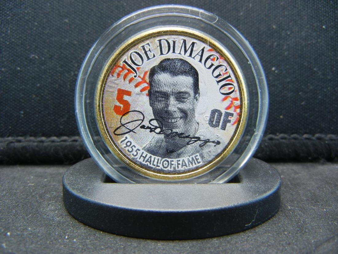 (BASEBALL LEGEND/JOE DIMAGGIO), 1955 HALL OF FAME,