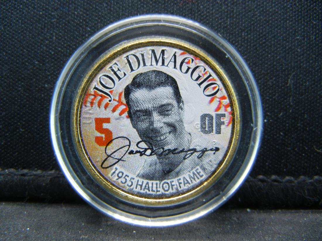 (BASEBALL LEGEND/JOE DIMAGGIO), 1955 HALL OF FAME, - 2