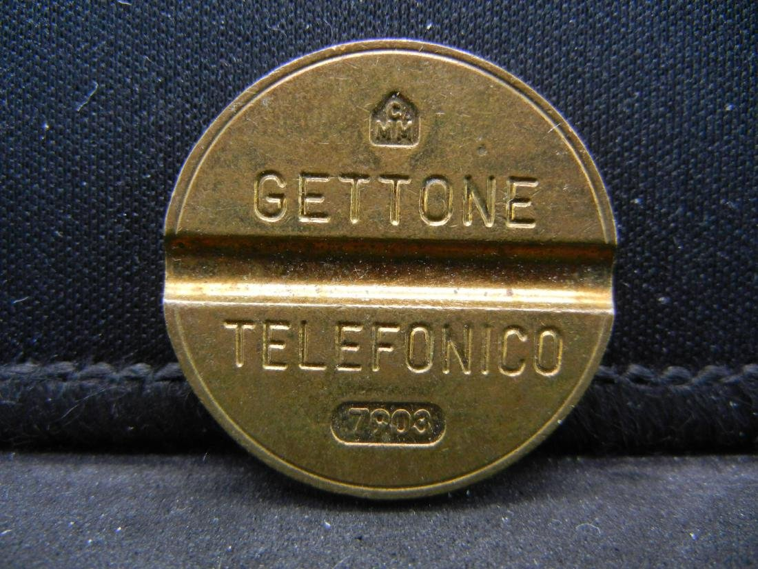 """VINTAGE """"TELEPHONE"""" TOKEN, HARD TO FIND, OWN HISTORY!"""