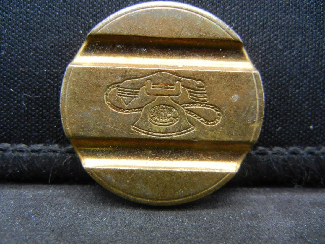 """VINTAGE """"TELEPHONE"""" TOKEN, HARD TO FIND, OWN HISTORY! - 2"""