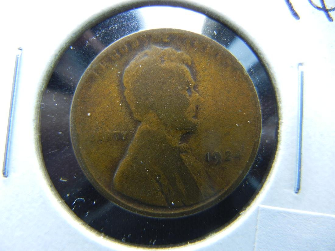 1924-D Lincoln Cent .  Good.