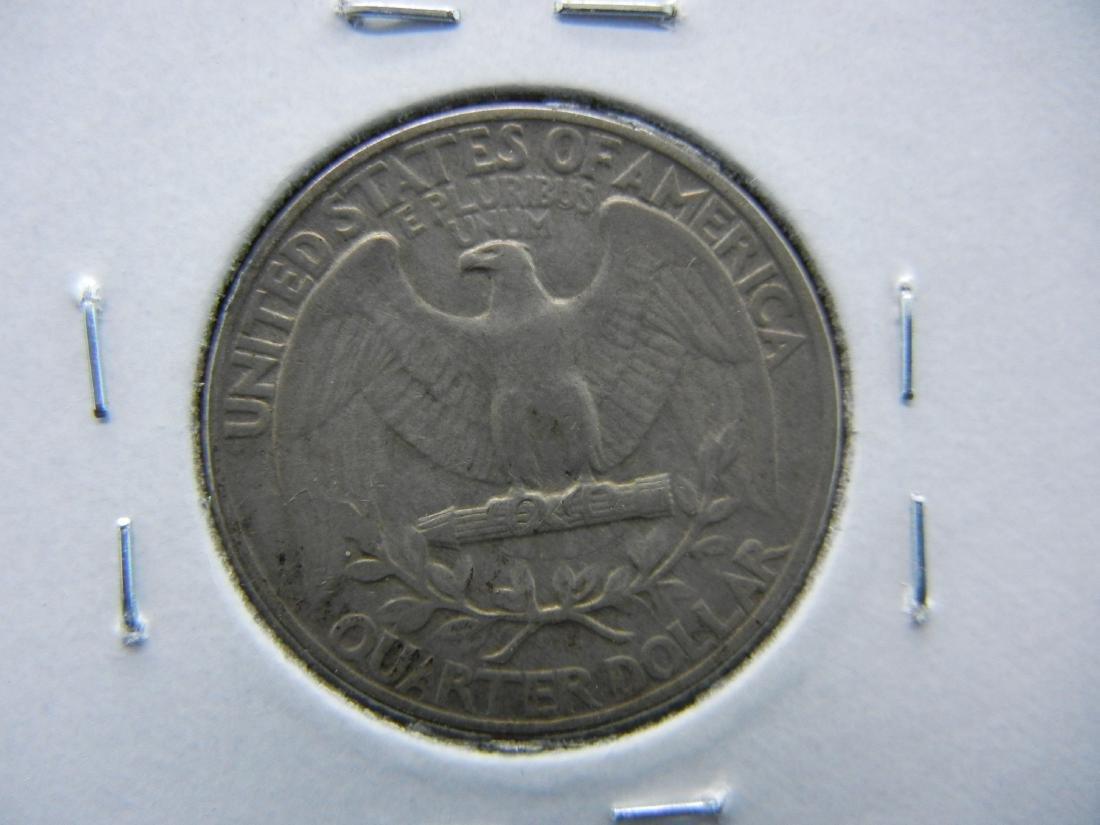1932 Washington Quarter Dollar .  AU+. - 2