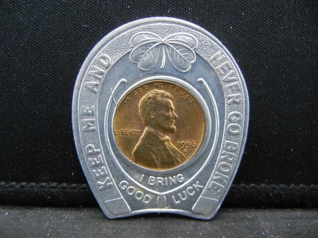 Penn-Ohio Coin Clubs. Cleveland, OH. Encased 1956-D