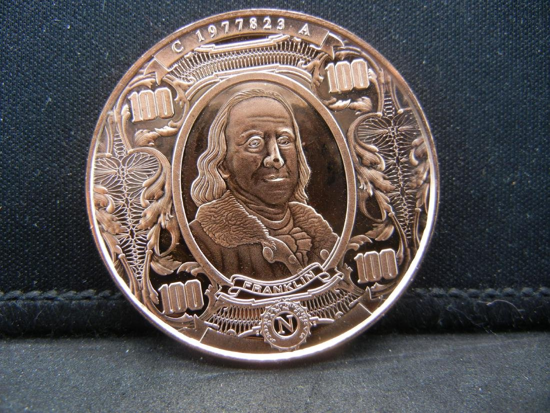 Franklin Copper .999 Fine