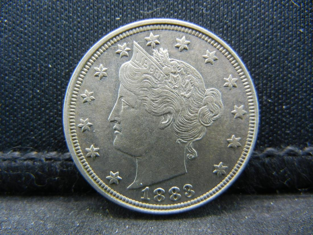 1883 V-Nickel, Uncirculated.