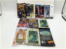 Lot of 10 Misc Basketball Card Packs