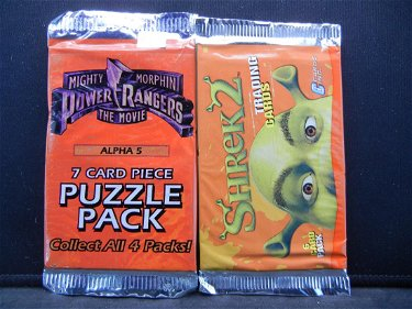 Power Rangers Shrek 2 Trading Cards Amazing May 09 2019 Richard L Edwards Auctioneering In Oh