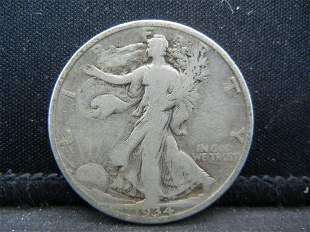 1934 Walking Liberty Half Dollar