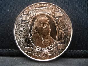 Franklin Copper 999 Fine