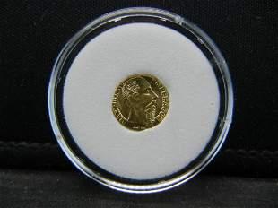 1868 Maximiano Gold Mini Emperor
