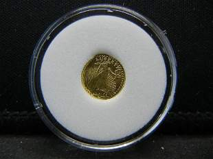 US Mini Liberty Gold Coin