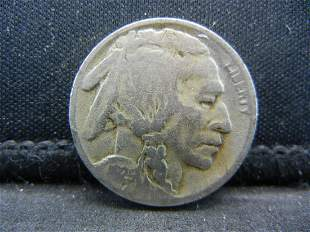 1925S Buffalo Nickel