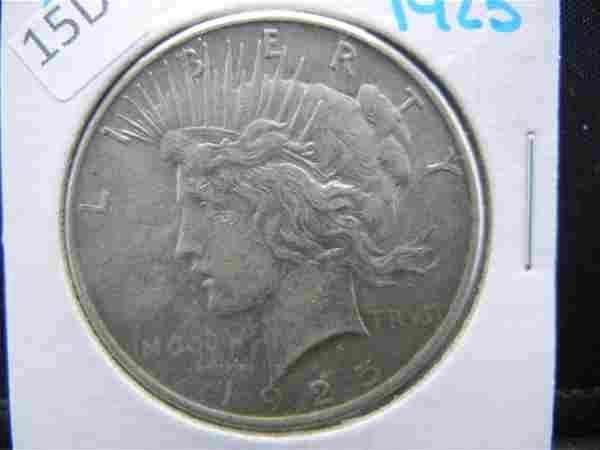 1925 Silver Peace Dollar