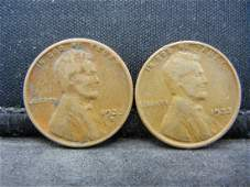1933 PD Lincoln Wheat Cents