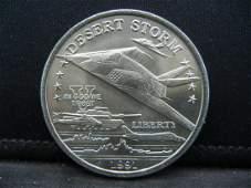 1991 $5 Hutt River Province Commemorating Desert Storm.
