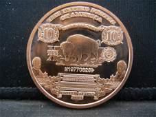 Buffalo Copper 999 Fine