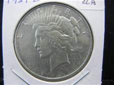 1927D US Peace Dollar  Very Hard to Find  Extremely