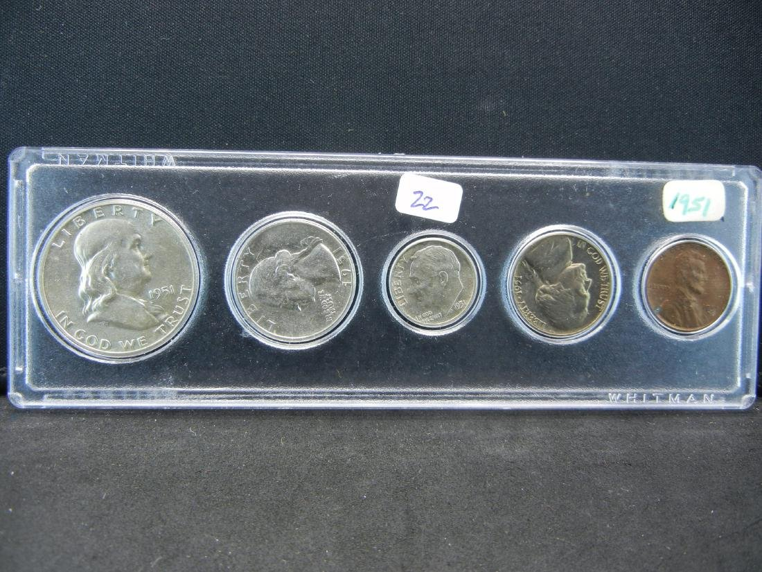 1951 Year Set.   Most Uncirculated