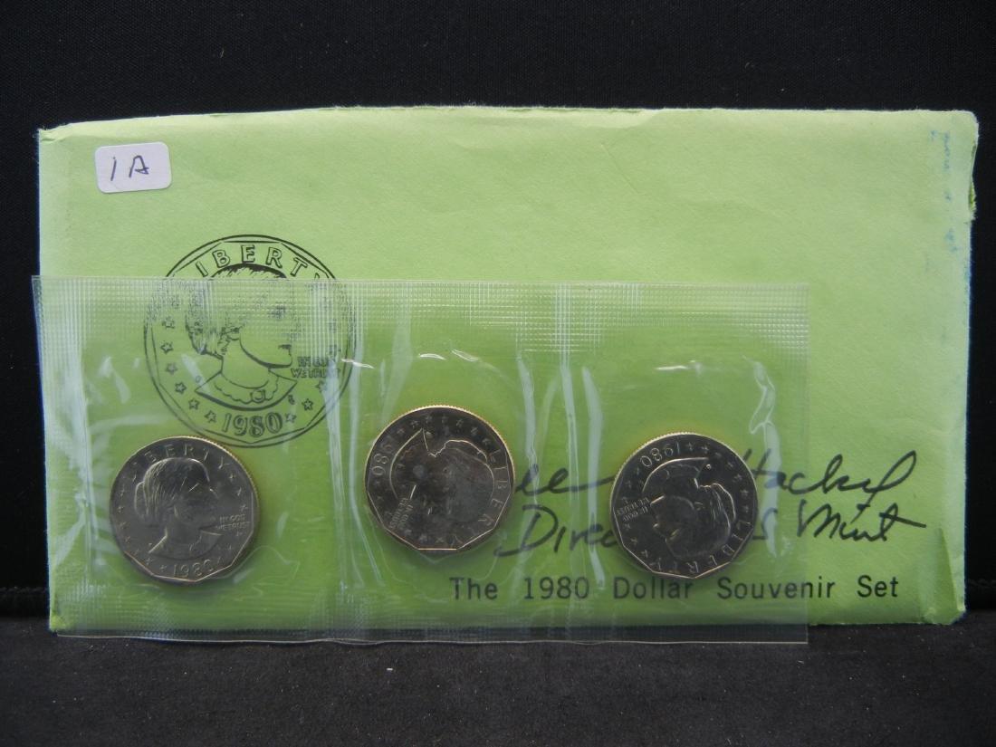 Great Collectible.  1980 Susan B. Anthony souvenir set