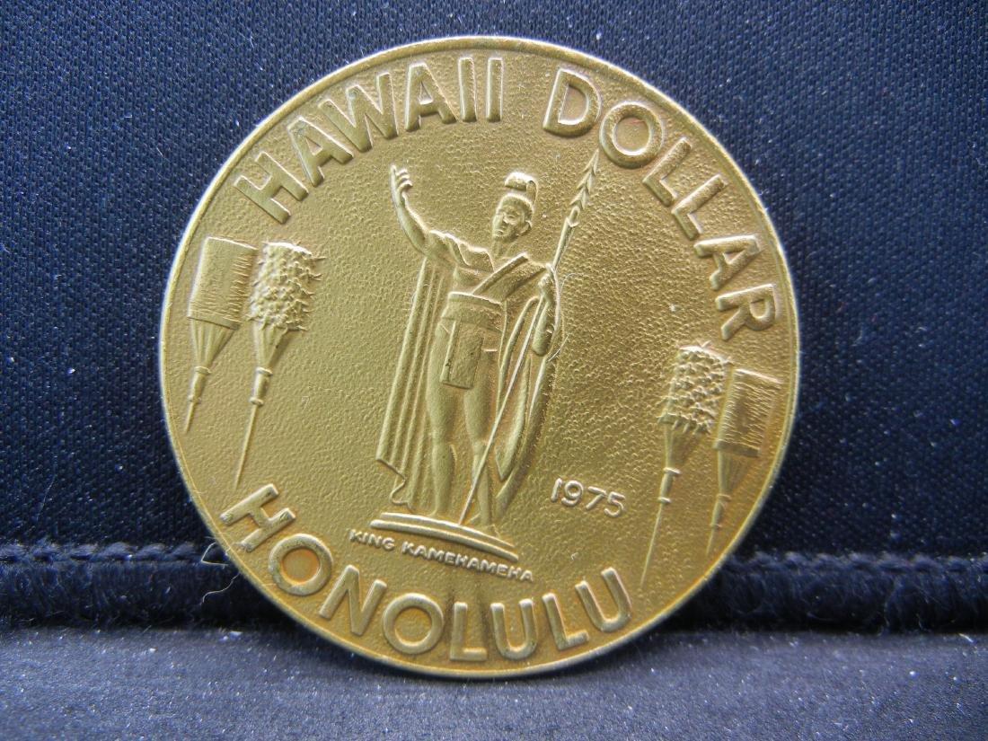 Hawaii Dollar.  King Kamehameha I.   Diamond Head.