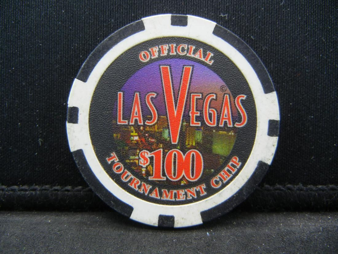 100 Las Vegas Casino Chip Official Tournament Chip Jul 09 2019 Richard L Edwards Auctioneering In Oh