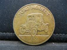 1909 FORD MODEL T ANTIQUE CAR COIN SERIES HARD TO