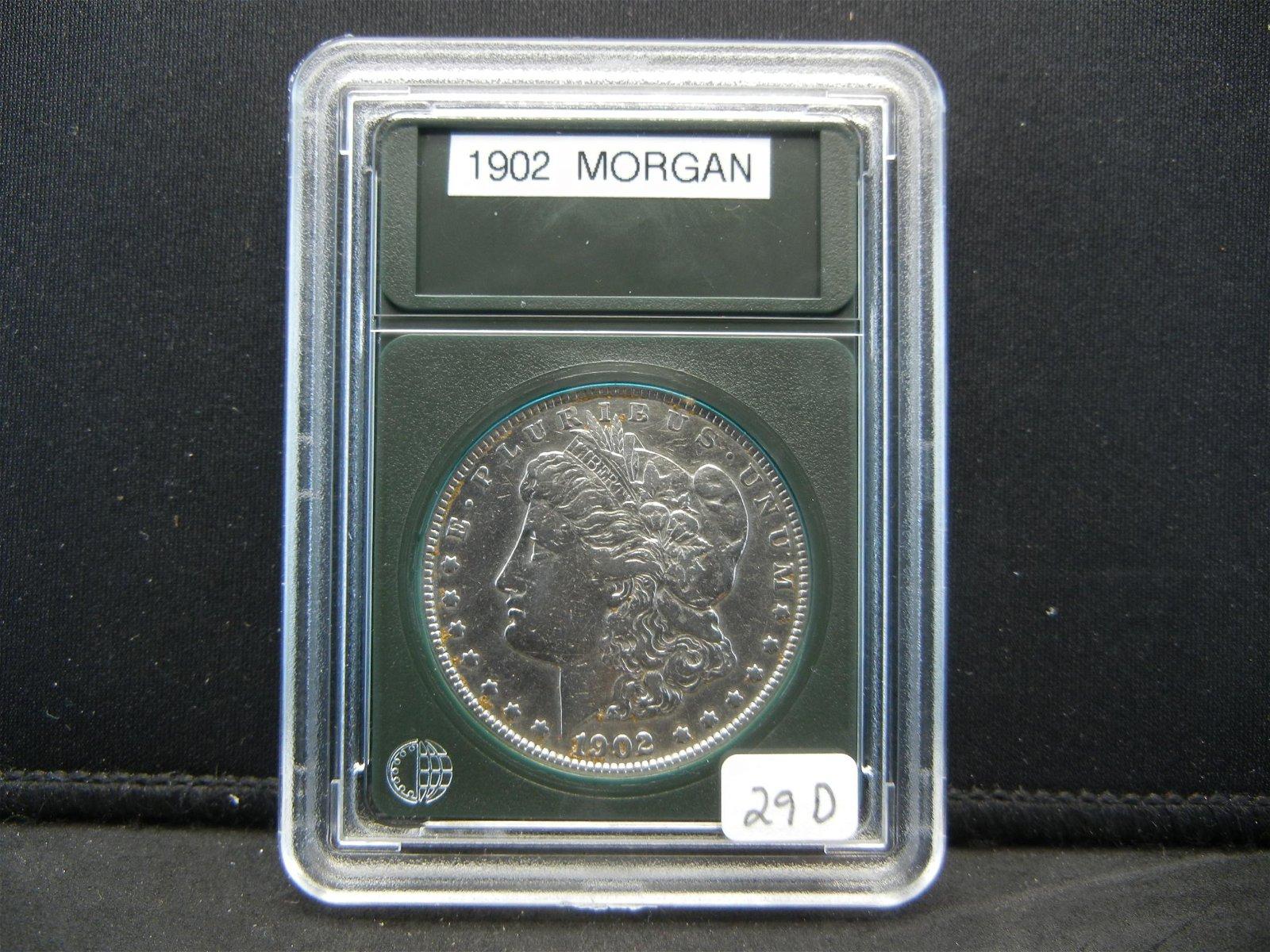 1902 Morgan Silver Dollar, Good Date